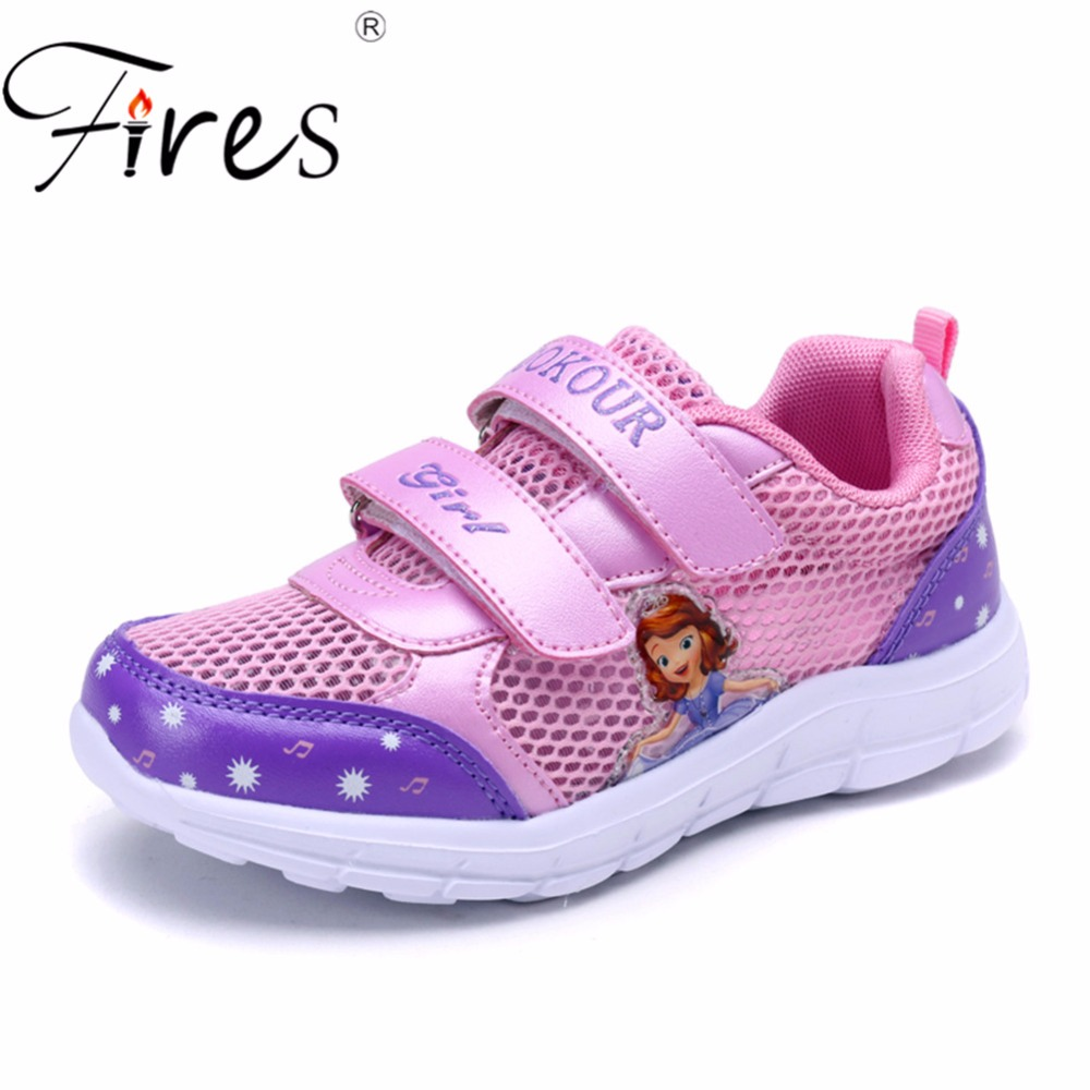Fires Girls Sneakers For Children Comfortable Kid Running Shoes Spring Outdoor Breathable Sports Sneaker Summer Walking Shoes ...