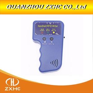 Image 3 - Handheld 125 KHz EM4100 RFID Copier Writer Duplicator Programmatore Reader + ID125Khz RFID Nero Ceramica Smart Anello di Barretta di Usura