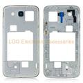 Для Samsung Galaxy мега 5.8 i9152 задняя задняя крышка корпуса с заменой части рамы с регулятором громкости + кнопка питания