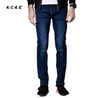 2017 New Brand Men S Jeans Europe And The United States Foreign Trade Stretch Slim Straight