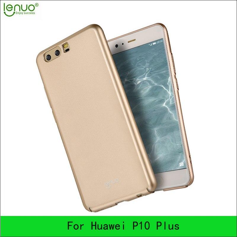 Для Huawei P10 Plus lenuo ультра тонкий жесткий Полный задняя крышка Защитная пленка для Huawei P10 плюс сзади чехол