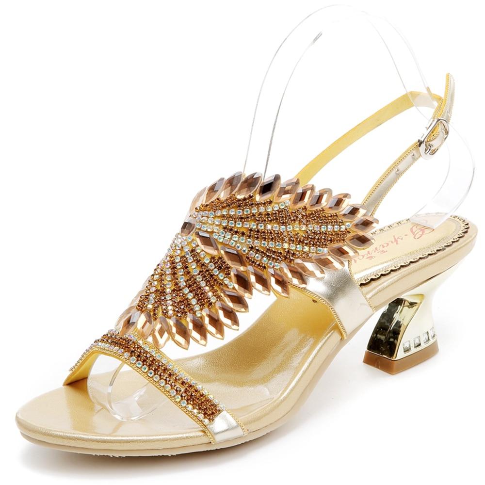 5523 Hot New Vendita Alta Scarpe golden Mujer Qualità Sandali Bello Zapatos 2018 Fashion Da Heels Heels Heels Heels Thick Negozio Vestito Di Black Donna red purple Pattini CxaCnpr