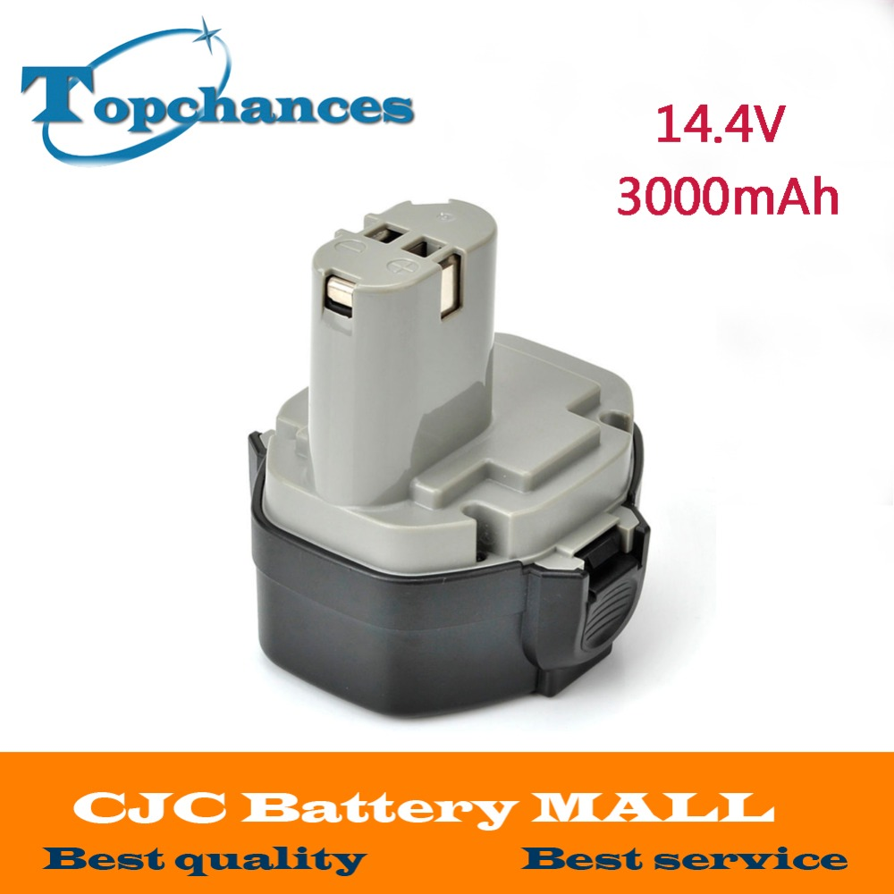 High Quality 3000mAh 3.0Ah 14.4V Ni-Mh Battery MAKITA 1433 1434 1051D 4033D 4332D 4333D 6228D Power Tool