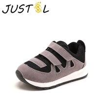JUSTSL/Детская спортивная обувь г. Новая Осенняя обувь для бега для мальчиков сетчатая Нескользящая дышащая обувь для отдыха size21-25