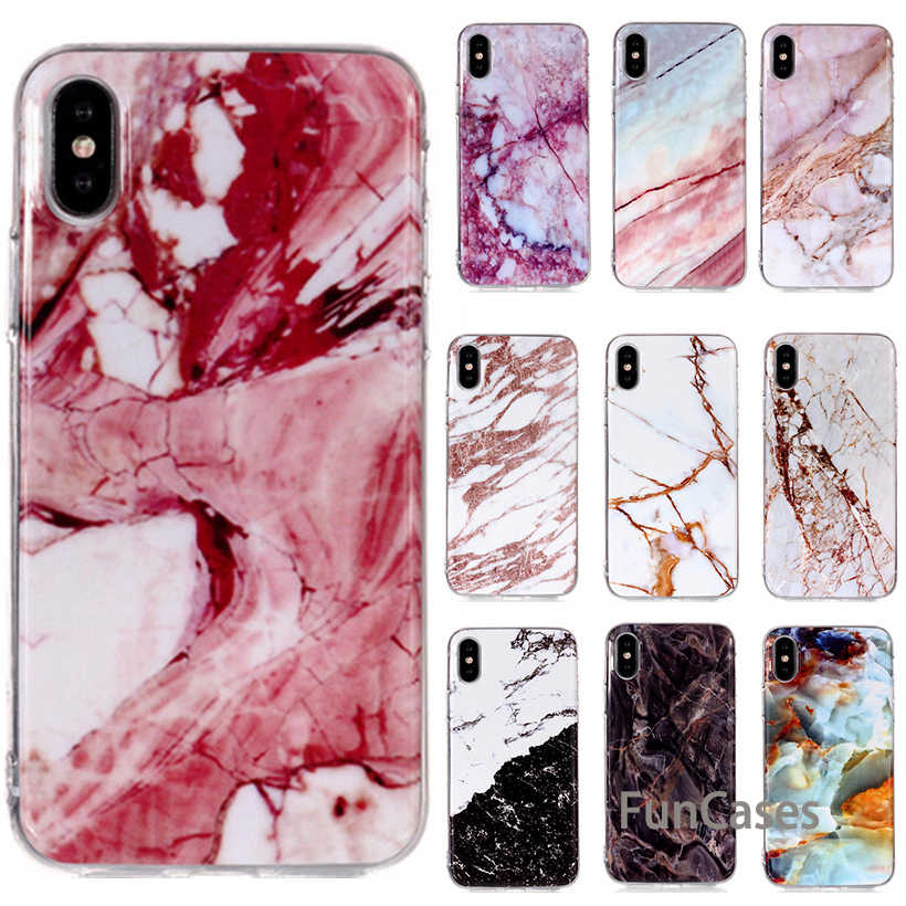Case For Huawei P8 P9 Lite 2017 P10 Lite Silicone Case For P9 Lite Mini Case Luxury Marble Pattern Soft TPU Back Cover Huwei