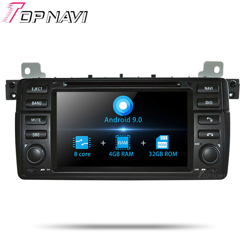 """TOPNAVI 7"""" Android 9.0 Car Radio Stereo Video Player For"""