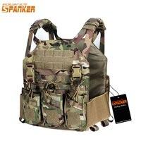 EXCELLENT ELITE SPANKER Hunting Camouflage Molle Nylon Modular Vest Tactical Combat Vests Equipment Outdoor Military Sports Vest