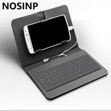 NOSINP Oukitel K6000 чехол Целом Клавиатура Кобура для 5.5 »HD Oukitel K6000 4 Г LTE Смартфон, бесплатная доставка