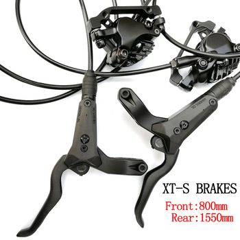 Bicycle Hydraulic Disc Brake Left Front Right Rear 800mm /1550mm AM FR MTB Mountain Bike Brakes 26/27.5/29 M8000 starpad for xinyuan accessories x2x front disc brakes front and rear sheet for xinyuan x2 x2 x2x brakes 4