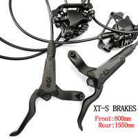 Bicycle Hydraulic Disc Brake Left Front Right Rear 800mm /1550mm AM FR MTB Mountain Bike Brakes 26/27.5/29 M8000