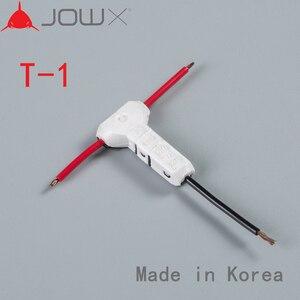 T-1, 100 шт., универсальный компактный автомобильный соединитель провода, автомобильный аудио Т-тип, быстроразъемный клеммный блок 23-20 AWG 0,3-0,5 м...