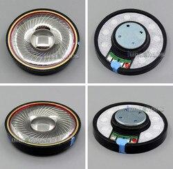LN005245 1 Pair 600 Ohm Dia 50mm Speaker DIY Custom Hifi Unit For SONY AKG Headset Headphone