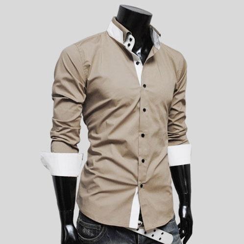 Shirt Collar Designs | Camisa Social Masculina2015 Men S Dress Shirt Collar Design Shirt