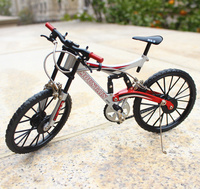 1/8 Simulation Shockproof Bicycle Model Fine Alloy Assembled Bicycle Toys