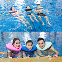 4 Colors Children Swimming Neck Ring Baby Neck Float Swim Trainer Infant Neck Float Kids Swimming Accessories