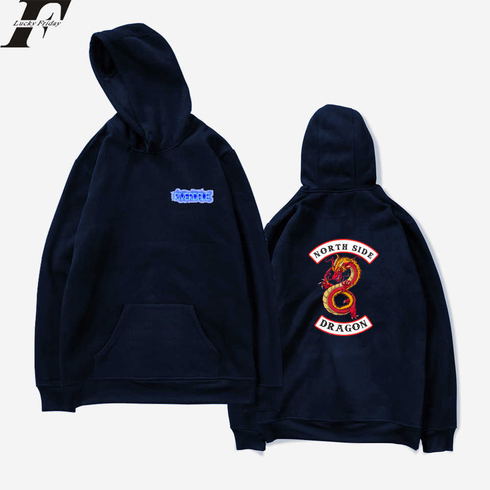 LUCKYFRIDAYF Riverdale Spring Hit TV Plays Women Sweatshirts Hoodies Funny Harajuku Casual Hoodie Men/Women Printing Clothes
