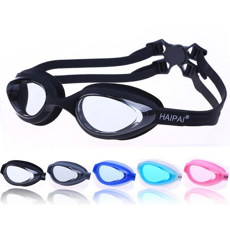 Large Frame Professional Waterproof Anti Fog UV Protection Swim Pool Soft Silicone Swimming Goggles Glasses Eyewear Accessories