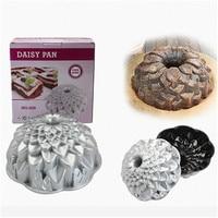 Kitchen Bakeware Supplies Daisy Shaped Baking Pan Cast Aluminum Cake Pan DIY Baking Dishes Nonstick Metal Cake Baking Mold