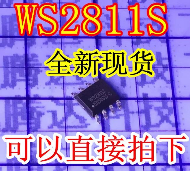 Adaptable 10pcs/lot Ws2811s Ws2811 Sop-8 Ic Ic Active Components