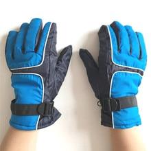 Women&Men Ski Gloves Cycling Mitten Snowboard Winter Glove Thicken Luvas Warm Outdoor Windproof Motorcycle Palm Wide 11.5cm