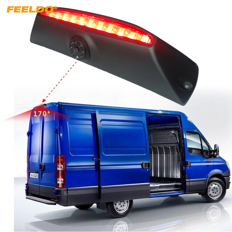 FEELDO 1Set Car Reverse Brake Light Backup Camera HD Rear View Camera for IVECO Daily 4 Gen 2011-2014 #AM5376 german truks iveco stralis промтоварный