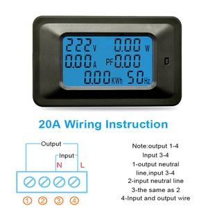 Image 4 - AC22KW 110~250V 100A Digital Voltage Power Energy Voltmeter Ammeter Meters Indicator Current Amps Volt Wattmeter Tester Detector