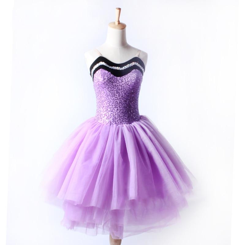 2018 Girls Movie Ballerina Leap Felicie Dress New Costume Tutu Skirt Dress K104