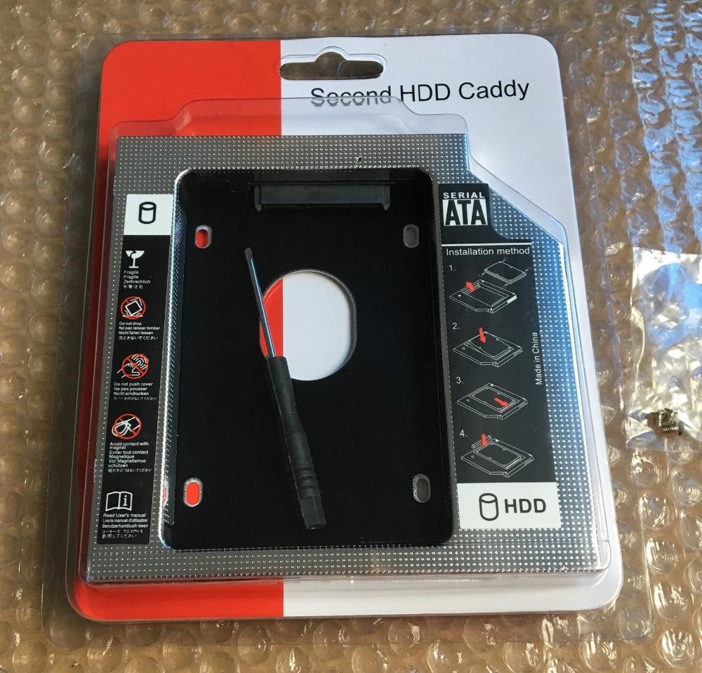 2nd HDD Hard Drive Caddy For Lenovo ThinkPad W540 W541 Z50-75 Z50-70 Y500 T440P