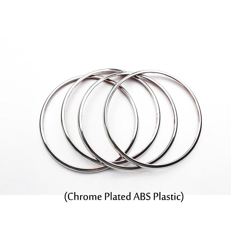 4pcs Chrome Covers For Chevrolet Cruze 09 15 1 Door Stereo Speaker