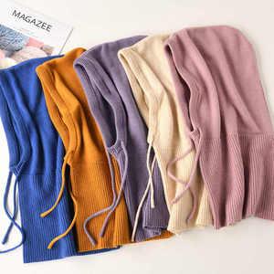 Image 5 - Bonnet en laine tricoté pour femmes