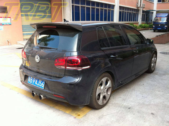 r20 roof wing carbon rear spoiler vw golf 6 r20 rear wing. Black Bedroom Furniture Sets. Home Design Ideas