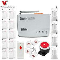 YobangSecurity Giá Rẻ GSM Home Thoại An Ninh Báo Động 433 Mhz Nga Tiếng Anh Bằng Giọng Nói Điều Khiển Từ Xa PIR/Cảm Biến Báo Động Cửa Kit