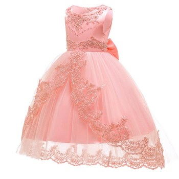 3daaa6fbd Niños vestidos de princesa para Niñas Ropa de fiesta niñas vestido de boda  elegante vestido para niña ropa de 3 4 6 8 10 12 14 años