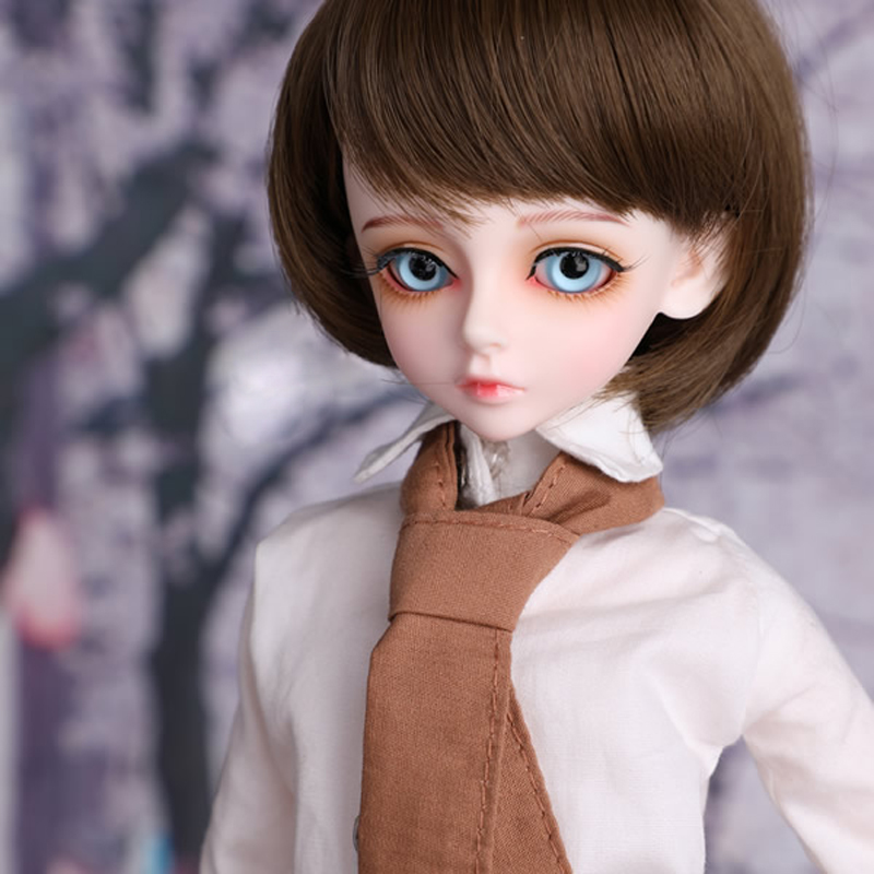 Fashion Style 1/4 BJD Doll BJD/SD Cool Boy Bory Joint Resin Doll With Eyes For Baby Girl Birthday Gift kid delf girl bory bjd doll 1 4 luts baby girl sd doll free eyes