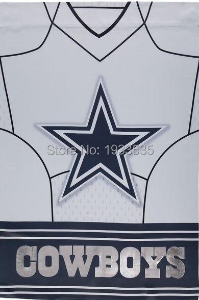 Ordinaire Dallas Cowboys Jersey Vertical Banner Garden House Flag Polyester Grommets  3u0027 X 5u0027 Banner