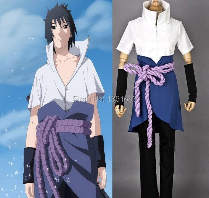 Naruto Sasuke Sasuke 4th nouveauté cosplay adulte homme et femme costume dessin animé japonais COS halloween fête jeu de rôle