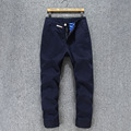 Fashion casual pants high quality cotton men pants slim fit casual  plus size 28~40