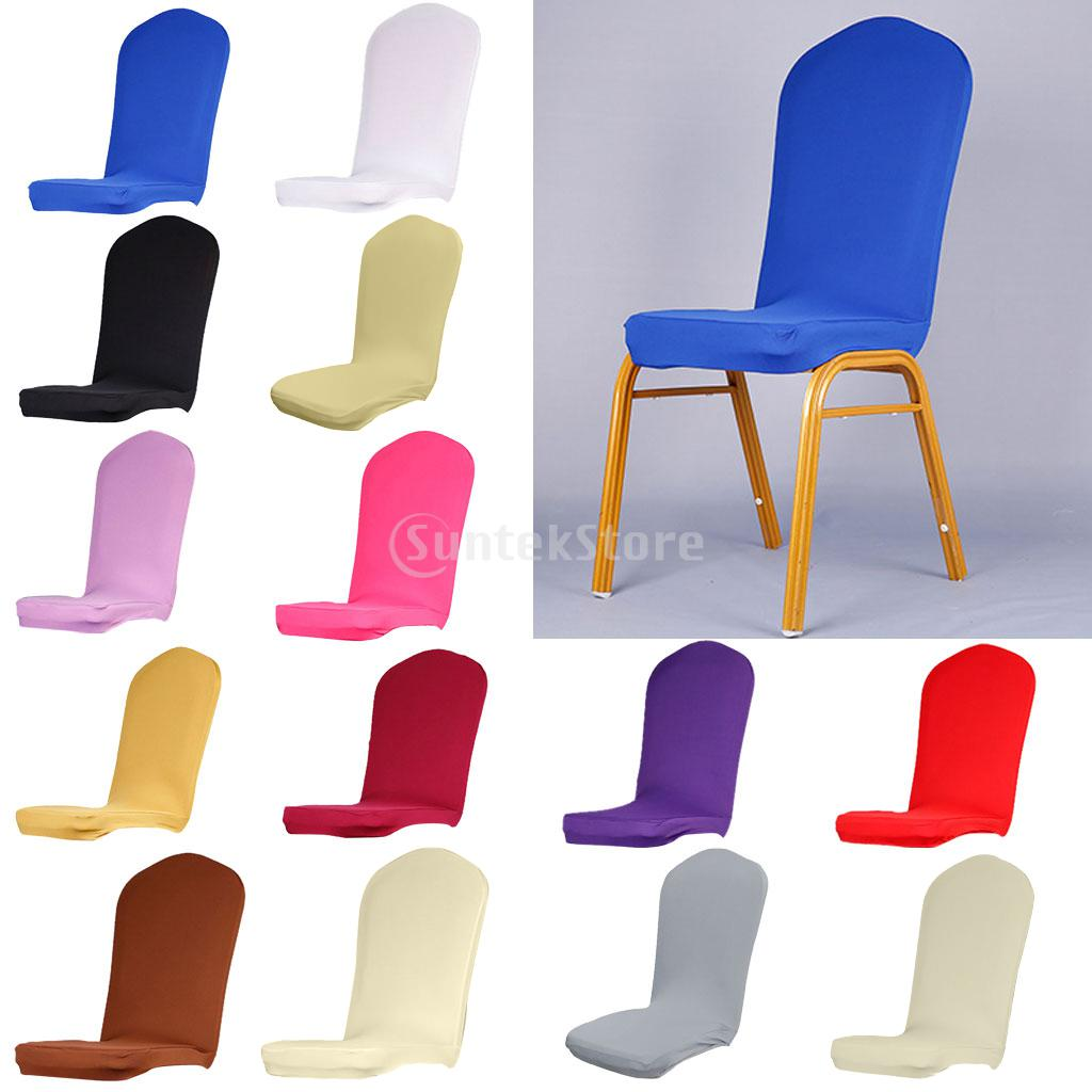 dining chair covers aliexpress pride electric lift repair universal solid color elastic semicircle room stool