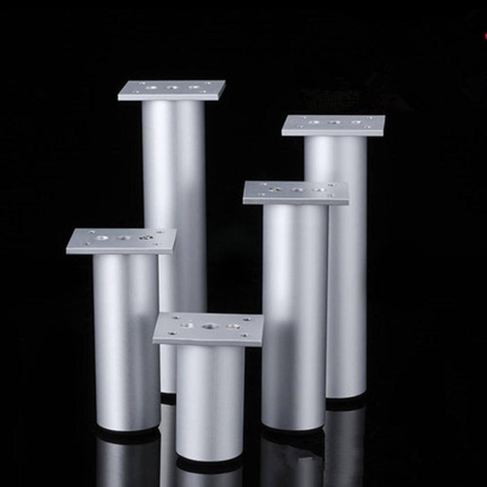 Aluminum Alloy Cabinet Feet Adjustable Furniture Bathroom Cabinet Foot Bed Foot Cabinet Foot TV Cabinet Legs Coffee Table F