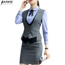 14f5a7ddd Women Formal Vest and Skirt Suits - Compra lotes baratos de Women ...