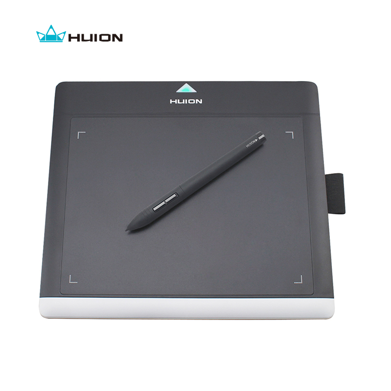 Promotion HUION New 680TF 8 220RPS Digital Graphic Pen Tablets Professional Signature Pad With MicroSD Card Kids Drawing Boards huion h610 8 expresskey usb graphic pen tablet black