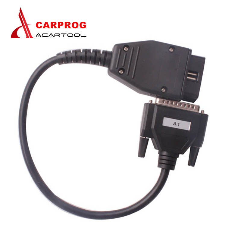 High Quality Carprog A1 Cable Main Cable OBD II Obd2 Adapter For Carprog V8.21/10.05/10.93 Free Shipping