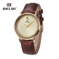 BELBI Quartz Ladies Watch Brand Luxury Women Watches Leather Watches Sport Wrist Watches horloges vrouwen