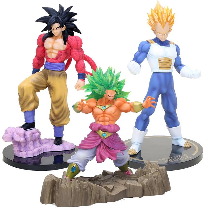 """DragonBall Z DBZ child goku bulma PVC FIGURE Statue 4/"""" new w box"""
