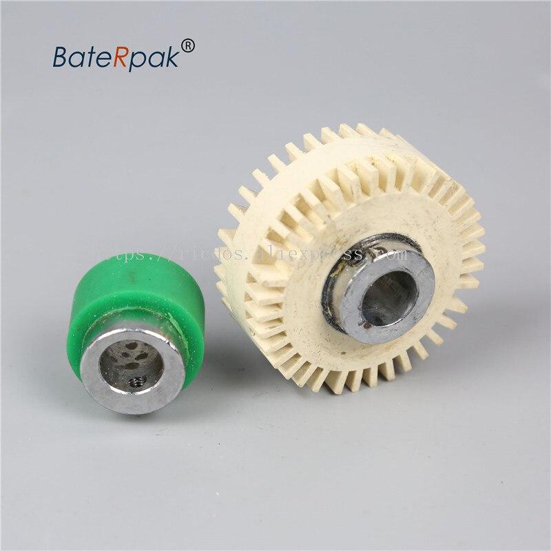 BateRpak Adjusting Wheel/separate Wheel ZE-8B4/9B4 Paper Folding Machine Spare Parts,8B2/9B2 Friction Rubber Roller,1pcs Price