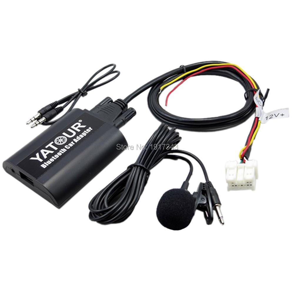 Yatour Bluetooth Car Adapter Digital Digital CD Changer Switch - Ավտոմեքենաների էլեկտրոնիկա - Լուսանկար 3