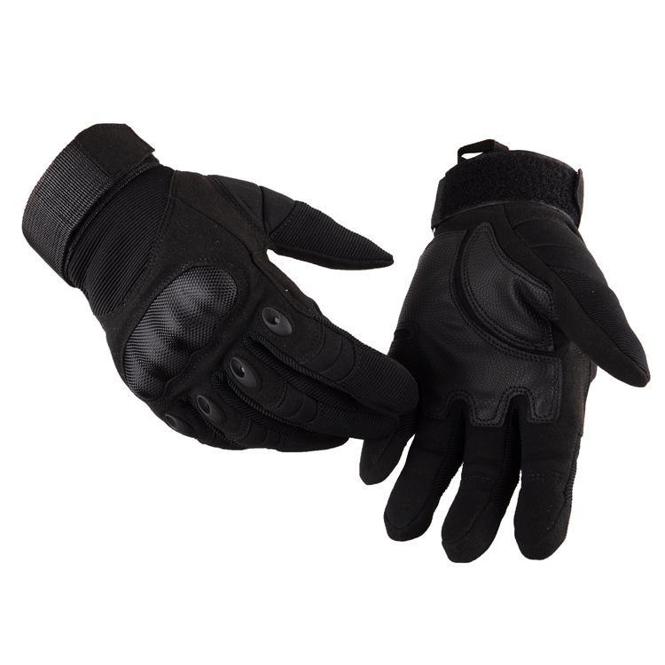 Screen Full Finger Outdoor Gloves Antiskid Wear-Resistant Motorcycle Outdoor Gloves Motocross Motorbike Protective