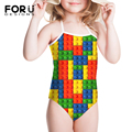 Girls Children Funny Toy Dot Printing Patchwork Swimwear One Piece Kids Girls Biquinis Infantil Girl Summer Hot Bikini Clothing