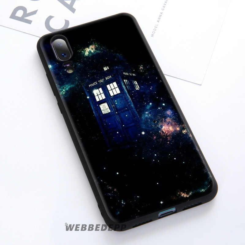 WEBBEDEPP Box Doctor Who Soft Case For Huawei P30 P20 Pro P10 P9 Lite 2017 P Smart 2019 & Nova 3 3i Y9 2019