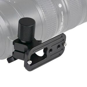 Image 3 - Traitement rapide de la plaque dobjectif de Type arca swiss en métal NF 200 Andoer CNC pour objectif Nikon 70 200mm f/2.8 VR et VRII